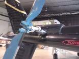 detail   náhonu  skutečné  vyrovnávací ocasní vrtulky